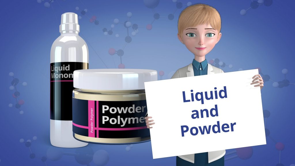 Liquid and Powder