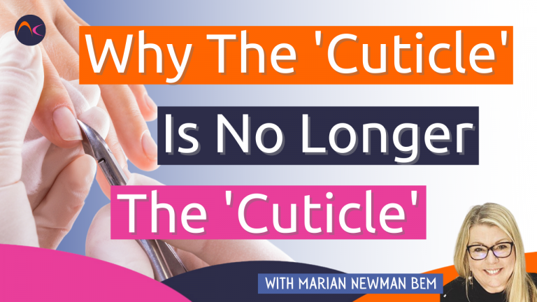 Why the cuticle is no longer the cuticle